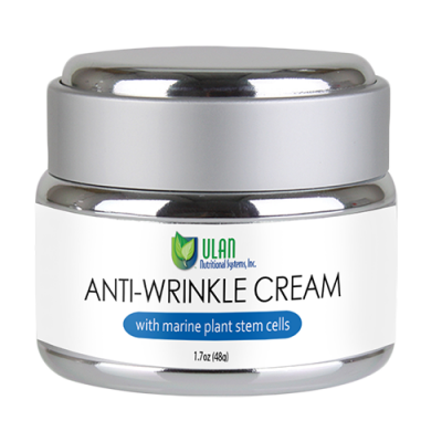 ANTI-WRINKLE CREAM with marine plant stem cells