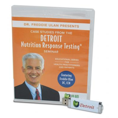 Detroit Nutrition Response Testing® Seminar Case Studies - Video files on USB Memory Stick