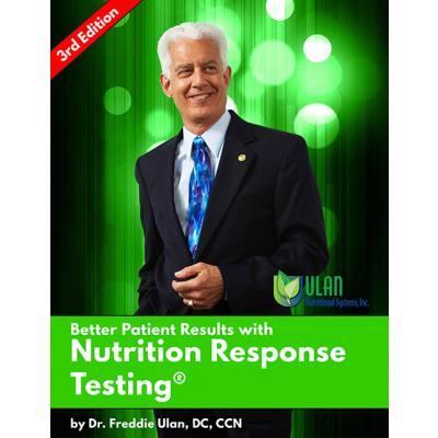 "Free Ebook ""Better Patient Results with Nutrition Response Testing®"""