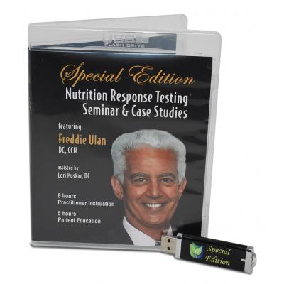 Special Edition: Nutrition Response Testing® Seminar & Case Studies - Video files on USB Memory Stick